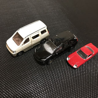 トミカ ミニカー3台セット 日産エルグランドレクサス他