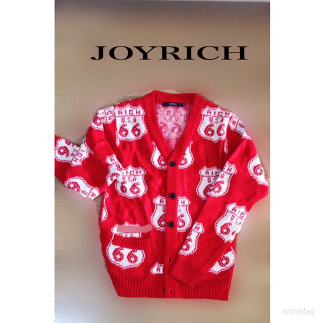 ジョイリッチ カーディガン(JOYRICH(ジョイリッチ) ) - フリマアプリ&サイトShoppies[ショッピーズ]