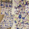 ANGELINAフリル花柄ベアマキシワンピース