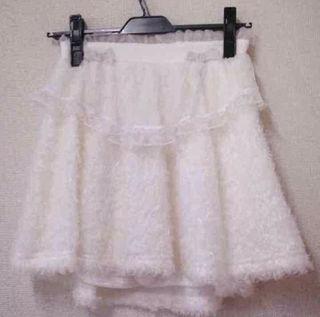 ふわふわスカート