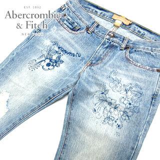 アバクロンビー&フィッチ ブーツカットデニムW19