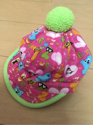 Bit'z ポンポン付き 帽子 44cm