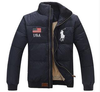 新品POLOポロラルフローレンダウンジャケット紺色各サイズ