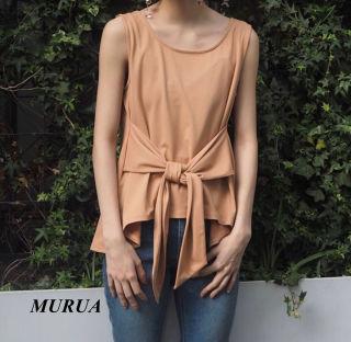 新品 MURUA フレアイレヘムタンク
