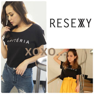 新品 RESEXXY criteria Tシャツ
