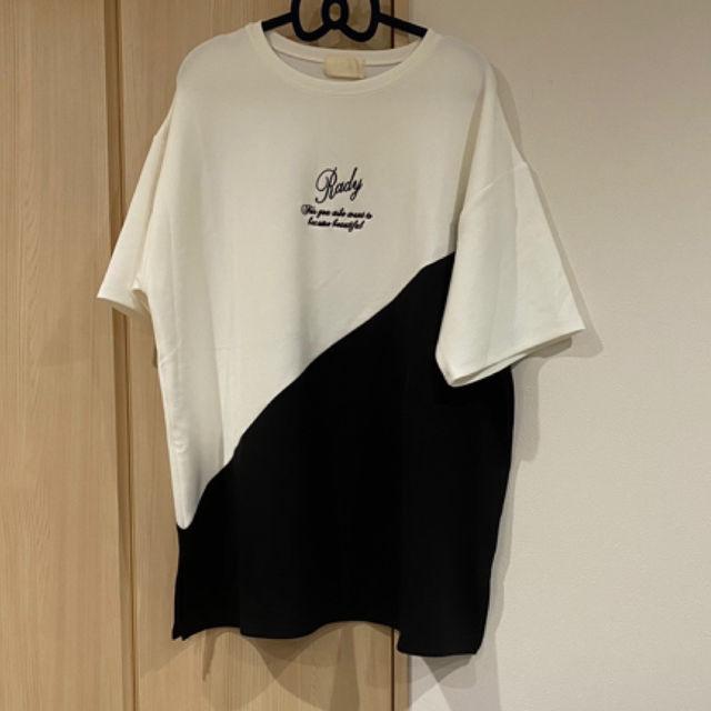 新品RadyバイカラーメンズTシャツL