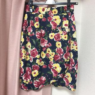 ロペ 花柄スカート