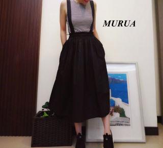 新品 MURUA フィットショートタンク