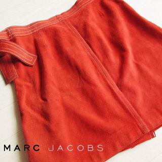 マークジェイコブスルック 4サイズ 本革巻きスカート