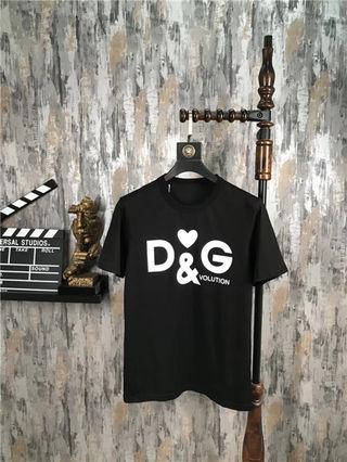 D&G メンズ Tシャツ 半袖 カットソー