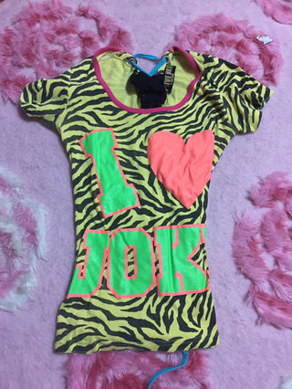 LOVE JUNKY GALシャツ