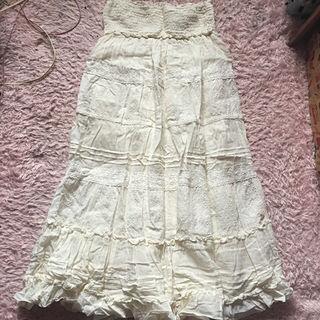 フェミニン ロングスカート