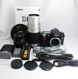 S1720回【超極上】Nikon D80 Wレンズキット