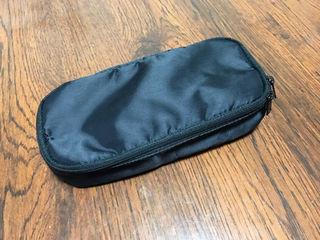 無印良品 新品未使用 ナイロンペンケース 大容量タイプ 黒