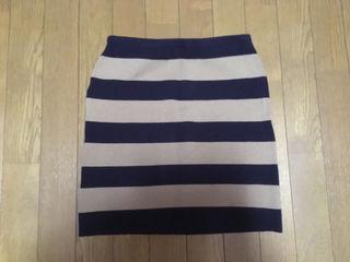 M.deux エムドゥ ニットスカート フリーサイズ