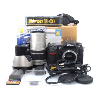 即撮影可能!元箱付き!Nikon D300 レンズキット