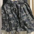 迷彩スカート