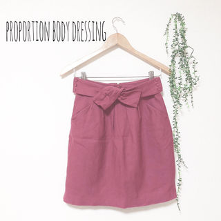 proportionbodydressing スカート