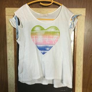 Littny 袖デザインTシャツ