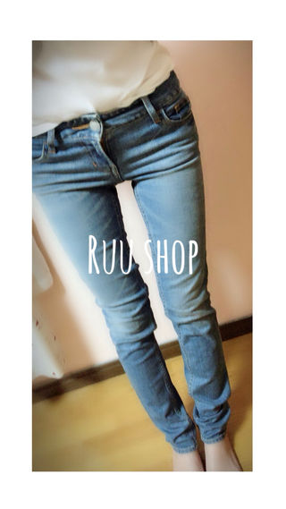 SLY JEANS スキニー26インチ
