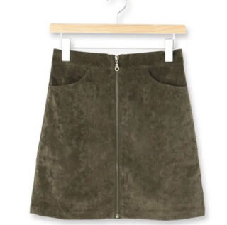 OZOC前Zipスカート新品タグ付