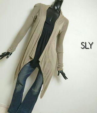 SLY*アシメカーディガン