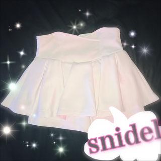 snidelパンツ付きスカート