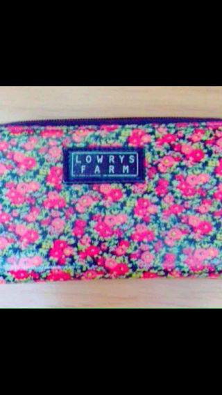 花柄 長財布