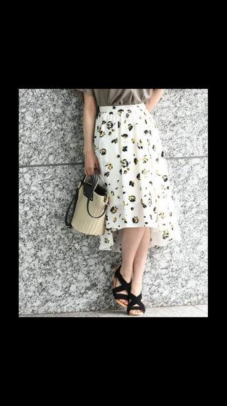 VIS フラワースカート