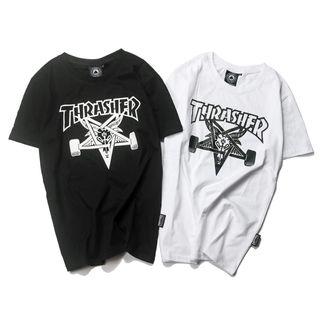 人気美品 格好いい/THRASHERTシャツth-09