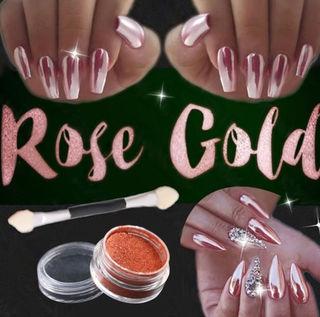 ミラーパウダー Rose gold