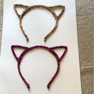 猫耳カチューシャ二個セット