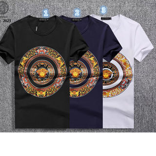 VERSACE(ヴェルサーチ) プリント 半袖  Tシャツ