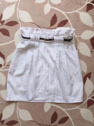 PAGEBOY ストライプタイトスカート