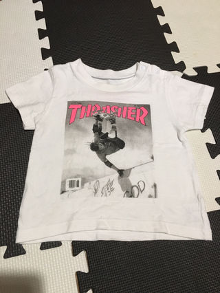 X-girl stages THRASHER コラボT 90
