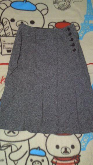 STRAWBERRY-FIELDSスカート畳み皺アリ