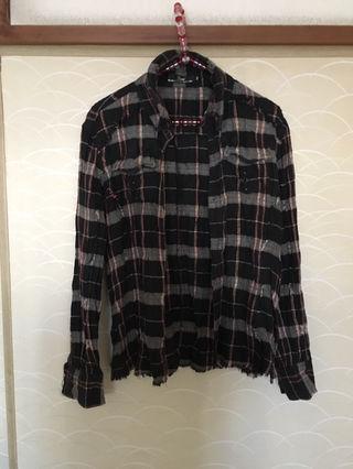 【美品】MIDAS チェックシャツ