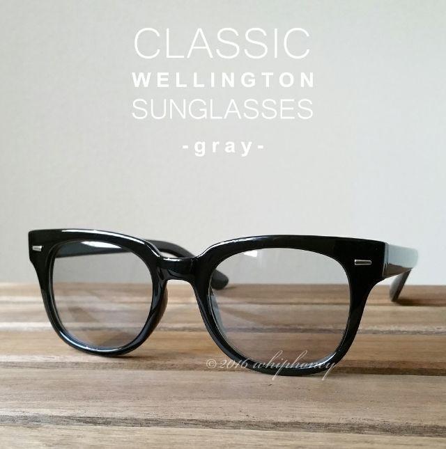 クラシカルモダンスクエアウェリントンだて眼鏡ライトグレー(その他 ) - フリマアプリ&サイトShoppies[ショッピーズ]