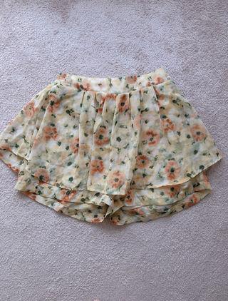 GRL 花柄キュロット
