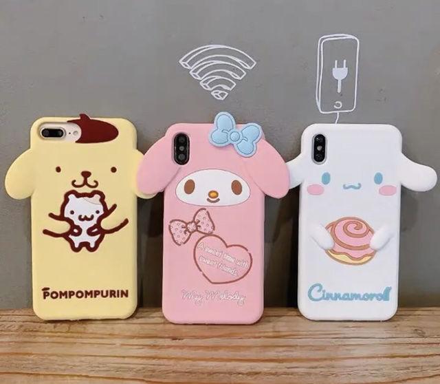 新品 シナモンロール iPhoneケース
