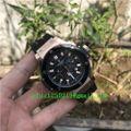 ピンクゴールドセラミック自動巻き腕時計