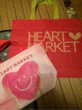 ハートマーケット袋