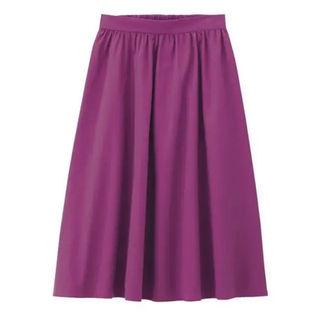 GU フレアスカート ピンク