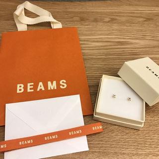 限定sale BEAMS 新品未使用 ワンカラットピアス