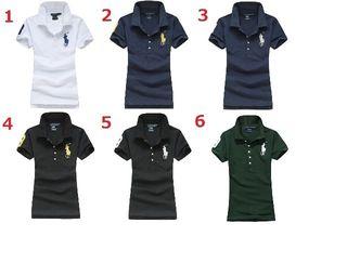 高質新品POLOポロ ラルフローレン女性用Tシャツ14色