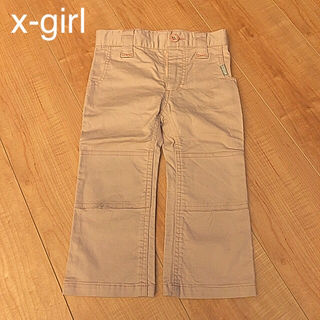 【90~100cm】x-girl パンツ ズボン 3T