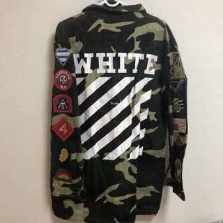 off-white オフホワイト ジャケット パロディ