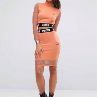 puma メッシュスカート