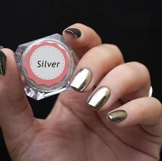 ミラーパウダー Silver