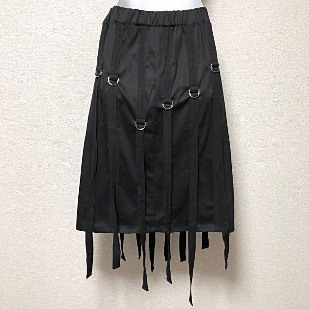 【新品/Drug honey】アジャスターベルト装飾スカート